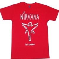 Nirvana In Utero Tee T-Shirt at Old School Tees