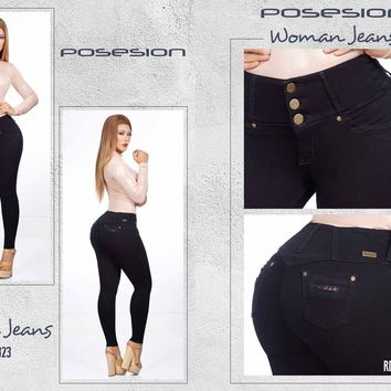 100%  Authentic Colombian  Push Up Jeans  8323   by Posesion (R)