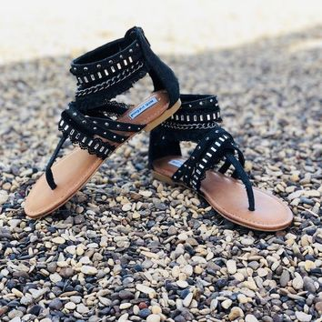 Not Rated Xara Sandals in Black