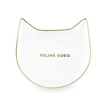 Feline Good Tea Tray- Trinket Dish