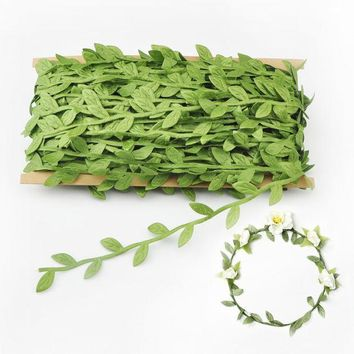 DKF4S 40 m artificial flowers rattan bride garlands Home Furnishing DIY accessories  <event party supplies