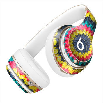 Multicolored Crochet Circle Skin for the Beats By Dre Headphones
