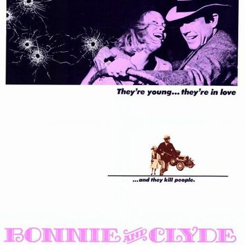 Bonnie and Clyde 27x40 Movie Poster (1967)