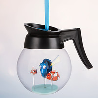 Disney Store 2016 Dory Coffee Pot Sketchbook Christmas Ornament New with Tags