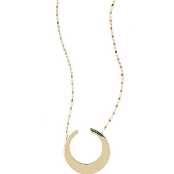 Lana 14K Gold Small Nude Geo Necklace