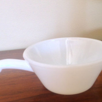 Anchor Hocking Fire King Oven proof #20 soup bowl. Made in the USA