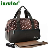 multifunctional diaper bags maternity mummy handbag baby care stroller bag High capacity mother Shoulder Messenger nappys bag