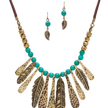 Tribal Chic Necklace Set