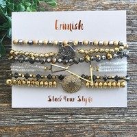 Layered Stacks Erimish Bracelets-Multple Options
