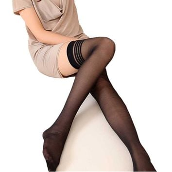 Hosiery tights Sexy women pantyhose girls ladies Leg Silk stocking Thin Femme over keen tight High Stockings drop ship new JN29A