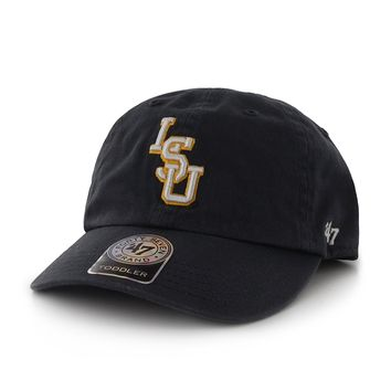 More buying choices for NCAA Louisiana State (LSU) Tigers '47 Clean Up Adjustable Hat, Navy, One Size