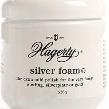 Hagerty 11360 Silver Foam Mild Silver Polish, 36 Ounces