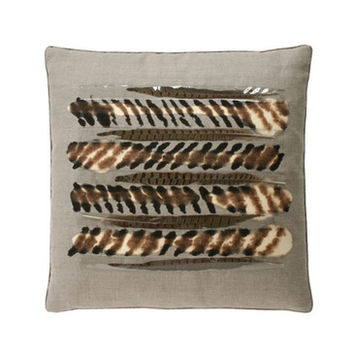 Dransfield & Ross Pheasant Under Glass Pillow