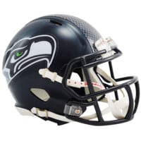 Seattle Seahawks Speed Mini Helmet - Seattle Seahawks - NFC West - NFL - Collectibles