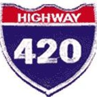 Iron-on Patches - Highway 420 Iron-on Patch