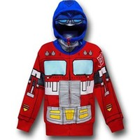 Transformers Optimus Kids Costume Hoodie