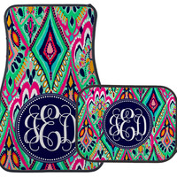 Monogrammed Car mats - Crown Jewels