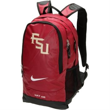 Nike Florida State Seminoles (FSU) New Logo Large Training Backpack - Garnet