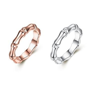 Fashion 9 Styles Gold Heart Wing Crown Circle Rings Trendy European Bowknot Tooth Bamboo Shape Finger Rings Women Jewelry