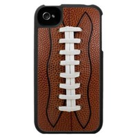 Football Sports iPhone 4 Case from Zazzle.com