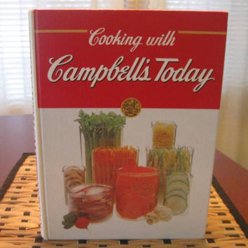 Cooking with Campbell's Today Cook Book, Vintage Campbell's Soup Recipes, Recipe Book, Soup Recipes, Cheescake Recipes, Fish Recipes