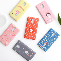 Romane Hellogeeks from the forest pattern case for Galaxy Note 4
