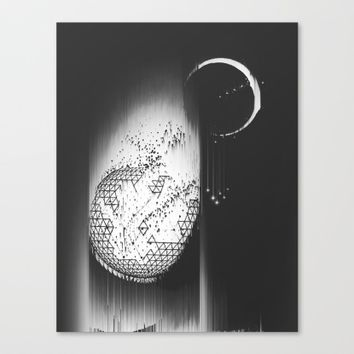 Truth Seekers Only Canvas Print by Ducky B