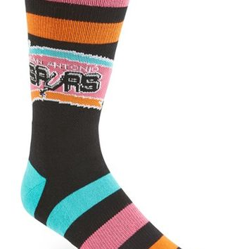 Men's Stance 'NBA - San Antonio Spurs' Combed Cotton Blend Athletic Socks