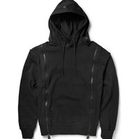 McQ Alexander McQueen - Zipped Cotton-Terry Hoodie | MR PORTER