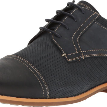 Steve Madden Men's Chays Oxford Navy Nubuck 8.5 D(M) US '