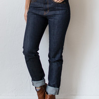 High Waist Donna X008 Raw Denim Women's Jeans [Railcar Donna X008] : ORN HANSEN, Vintage + American Made General Store
