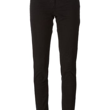 Roberto Cavalli slim trousers with a five pocket design