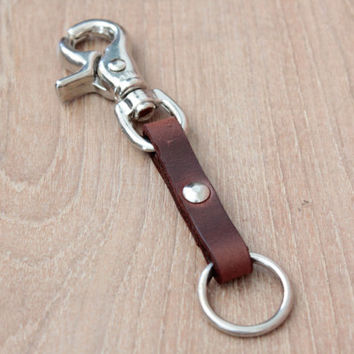 key chain Keychain, Leather Keychain,Keyring,Leather Key fob,keyholder, Keyfob, Keychain (MC-45)