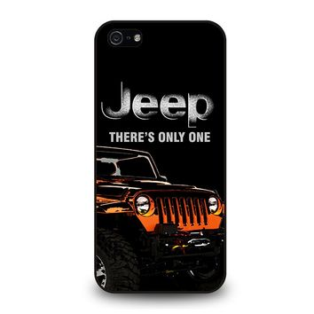JEEP THERE'S ONLY ONE iPhone 5 / 5S / SE Case