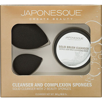 Japonesque Cleanser & Complexion Sponge Set | Ulta Beauty