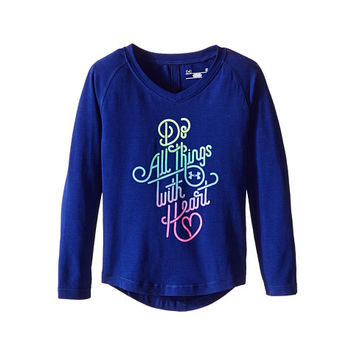 Under Armour Kids Do All Things with Heart Long Sleeve (Toddler)