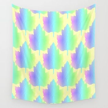 Pastel Nature Wall Tapestry by Sartoris ART
