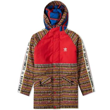 Multicolor Adidas Padded Jacket by Pharrell Williams