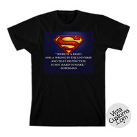 Man Of Steel Superman Quotes New Hot T-Shirt