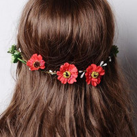 Hippie Floral Crown