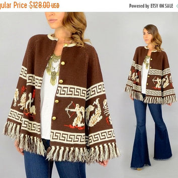 SALE 70's Zodiac Signs Sweater