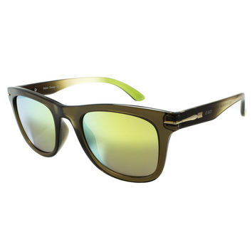 Green Sunglasses By Ego Green Lenses Shades Aviator Style Mens