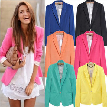 Womens Stylish Jacket Fit Blazer