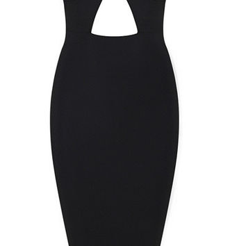 'Hazel' Double Strapped Bandage Dress