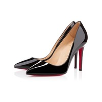 Corneille 100mm Black Patent Leather