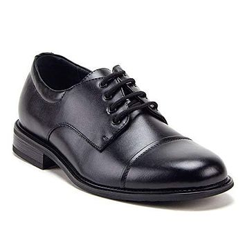 Men's 29663 Classic Round Toe Lace-Up Oxfords Casual Dress Shoes