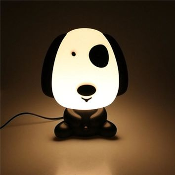 Pretty Cute Rabbit Dog Cartoon Animal LED Night Light Baby Room Sleeping Light Bedroom Desk Lamp Night Lamp Best for Gifts