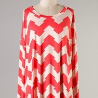 Arrow Chevron Tunic Top