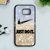 Nike Jordan Mint Wood Samsung Galaxy S7 Edge Case | armeyla.com