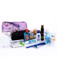 Convenience Kits Premium Travel Necessities Kit, Women